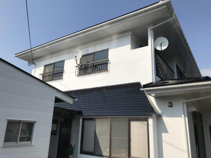 大崎市岩出山 S様邸 屋根・外壁塗装工事