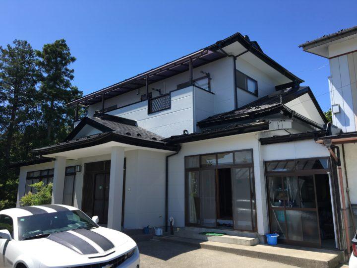 大崎市田尻 W様邸 屋根・外壁塗装工事