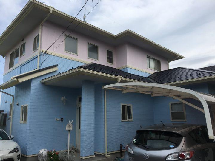 遠田郡美里町 S様邸 屋根・外壁塗装工事