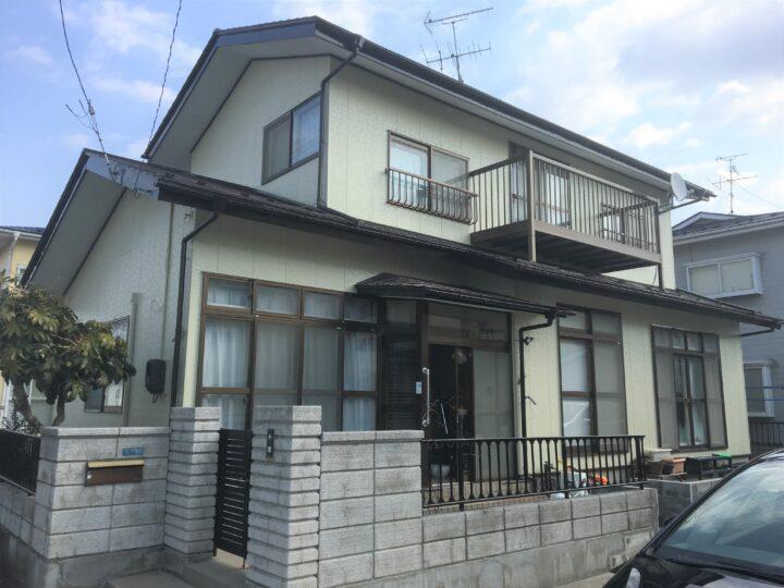 大崎市古川 K様邸 屋根・外壁塗装工事